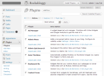 Plugin Page - Admin Quicksearch (Wordpress Plugin) Screenshot