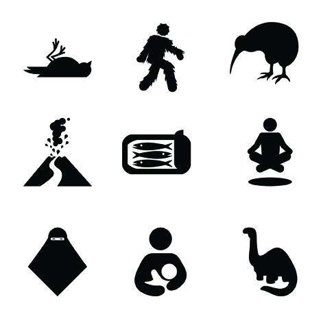 Strange Icons